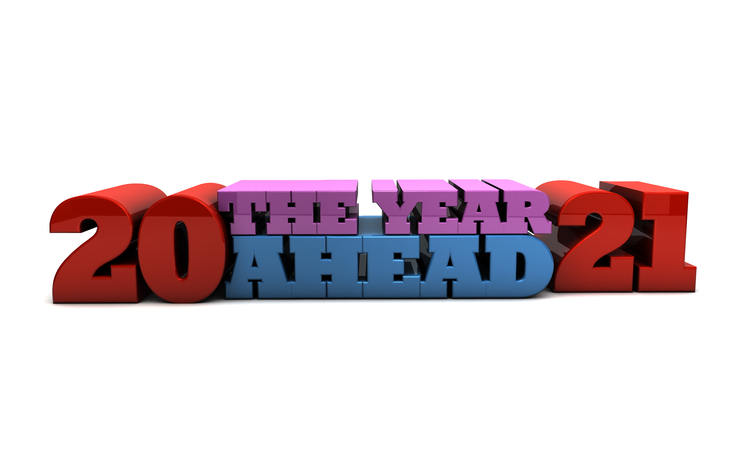 2021 The Year Ahead - Free marketing illustration