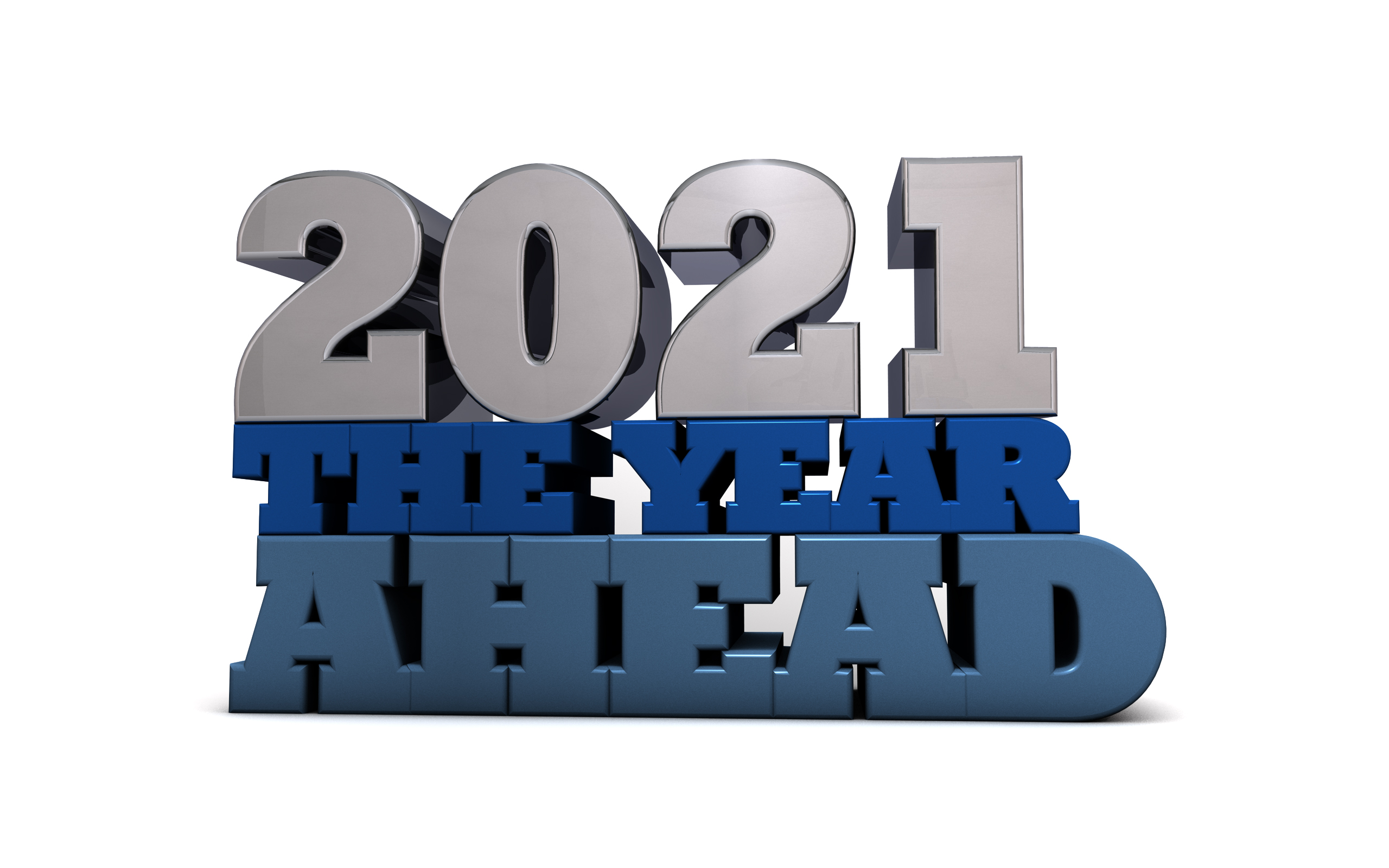 2021 - The year ahead - Free Content Marketing Illustration