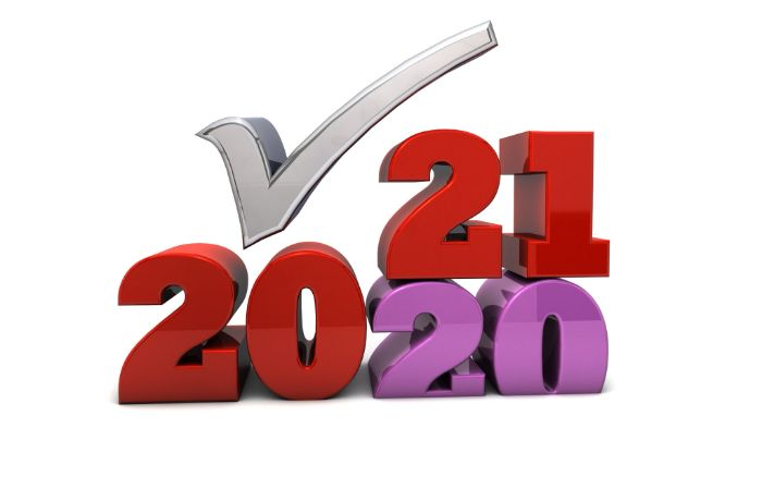 2021 - A new year