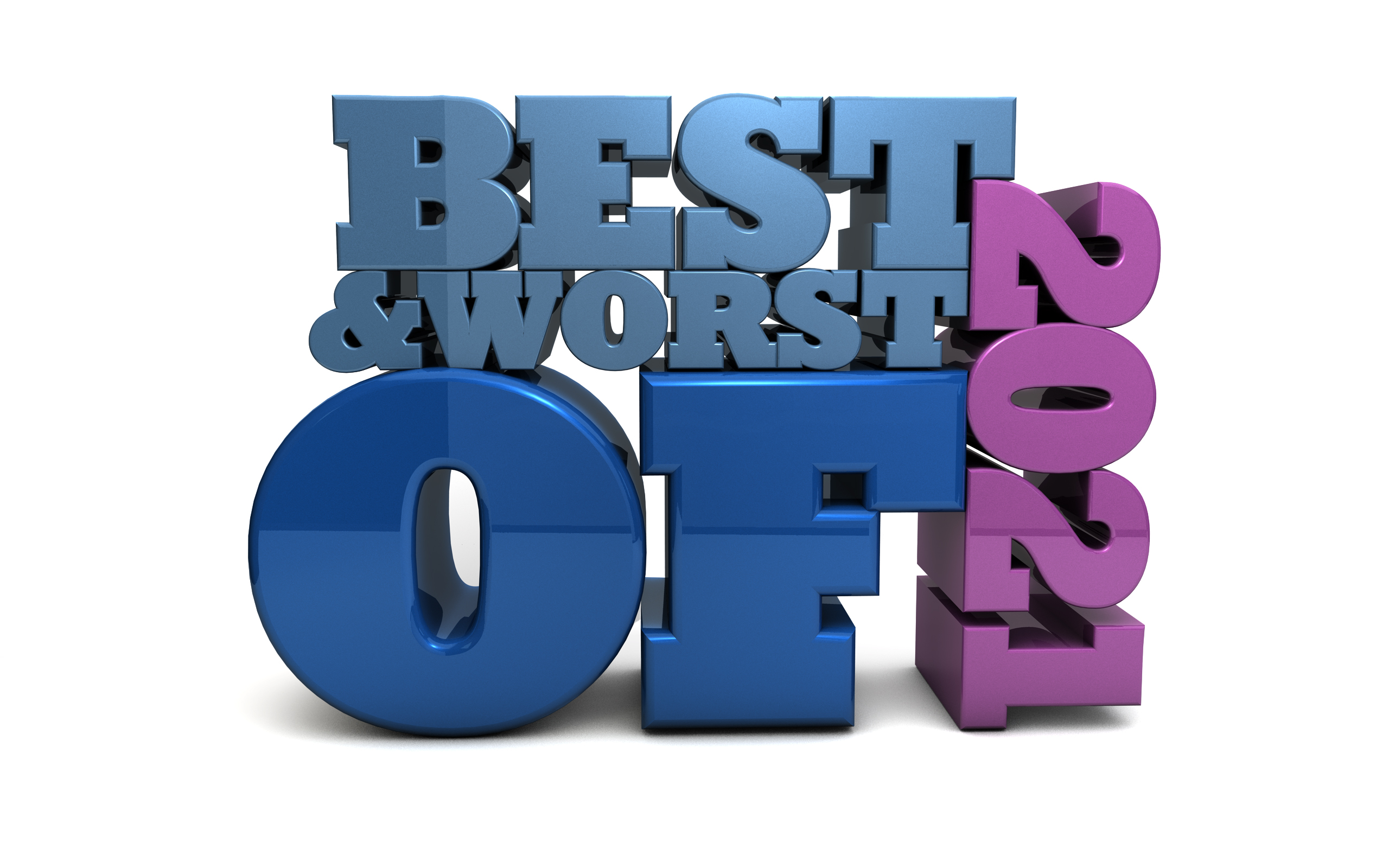 Best and Worst of 2021 - Free content marketing illustration