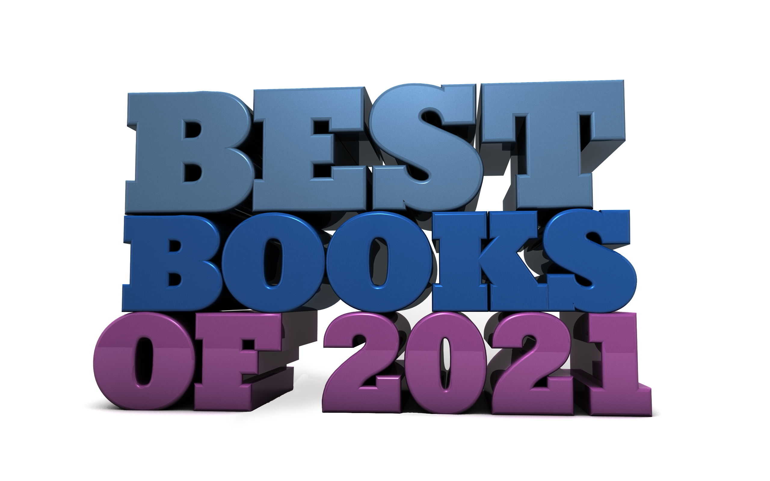 Best books of 2021 - Free marketing illustration