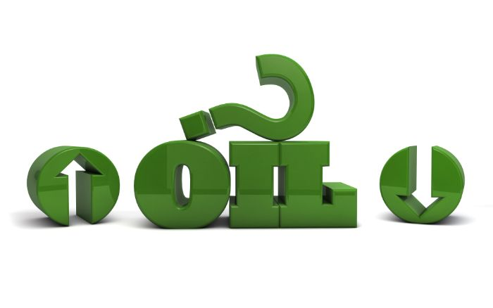 Oil Prices - Going up or down - free stock illustration