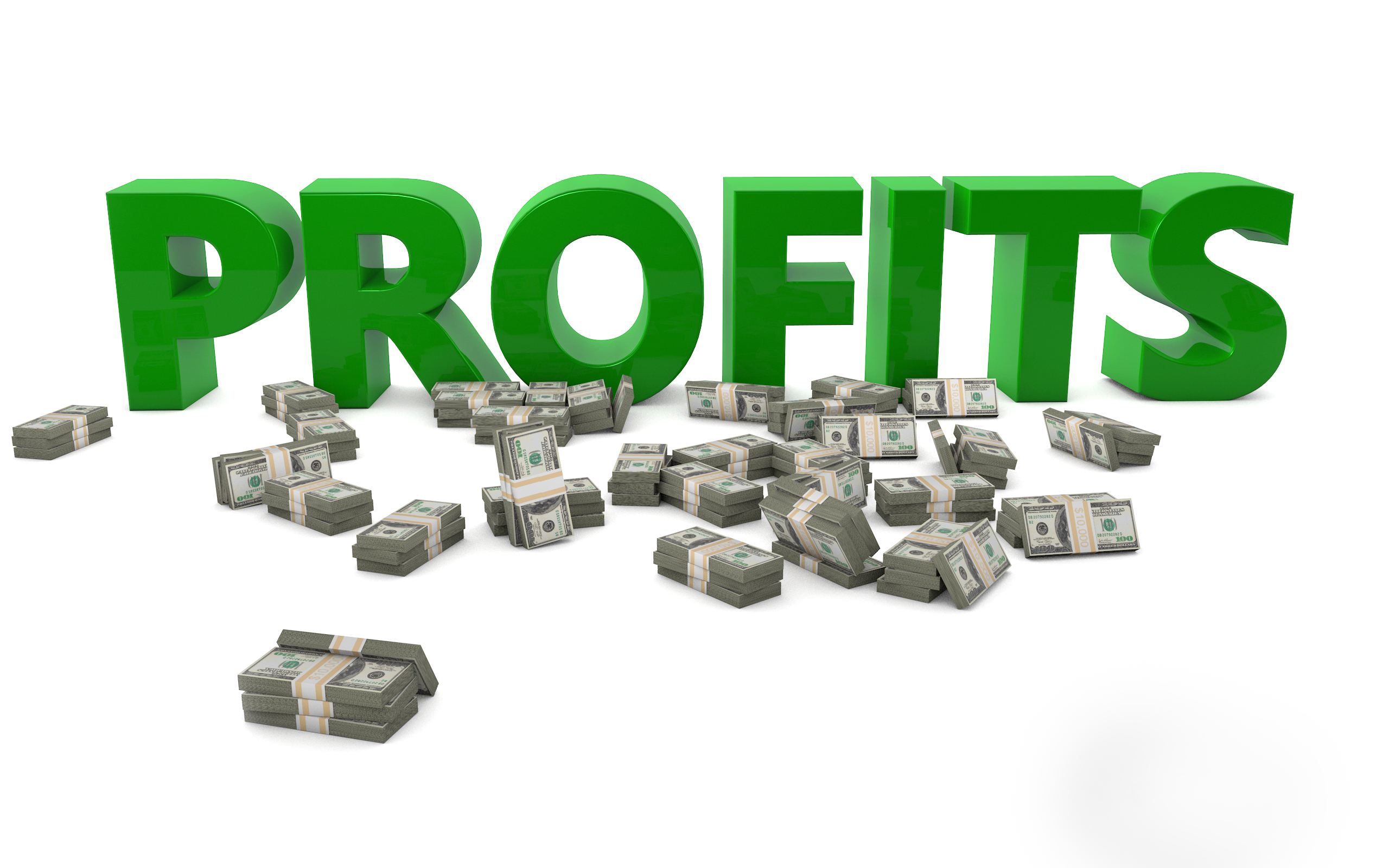 Profits - A free content marketing illustration