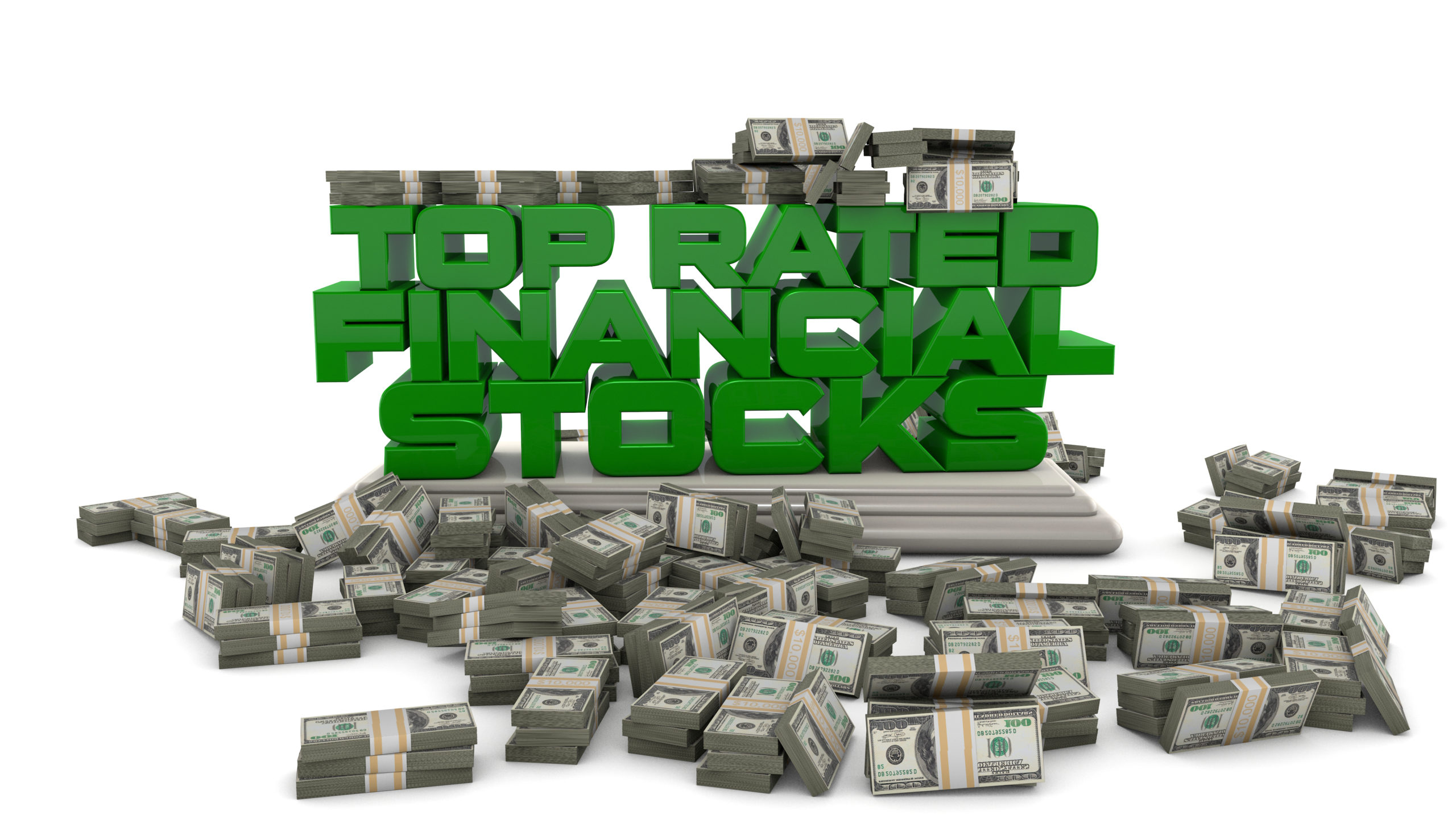 Top Rated Financial Stocks - Free marketing illustration for bloggers