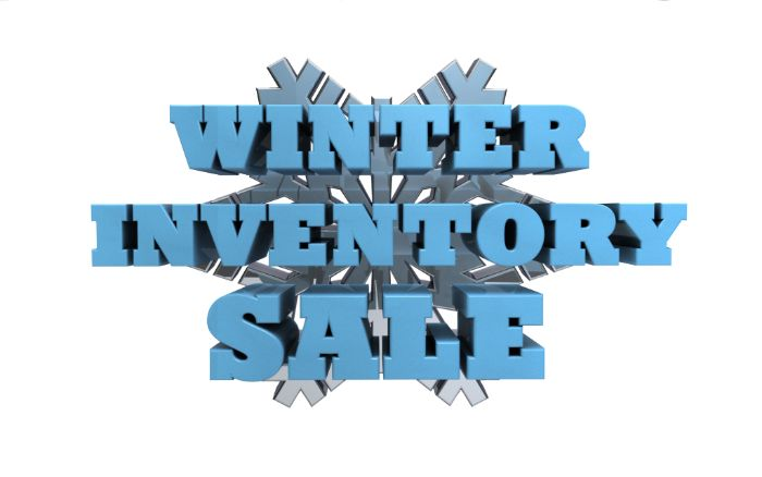 Winter Inventory Sale
