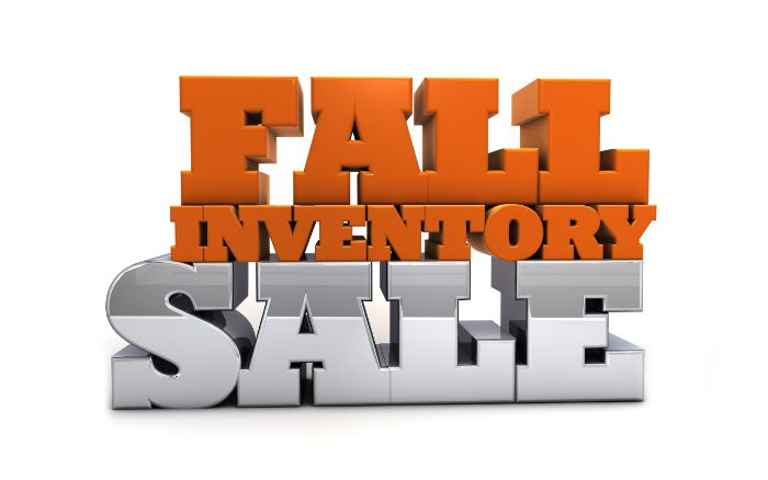 Fall Inventory Sale - Free Marketing Content